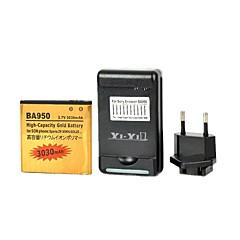 우리가 배터리 충전기를 연결하고 유럽 연합 (EU) 소니 엑스 페리아 ZR / m36h / c5502 / ba950에 대한 연결 USB와 이순신 - 이순신 ™ 교체 3030mah 배터리