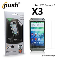 grande transparence protecteur d'écran HD LCD pour HTC une mini-2 (3 pièces)