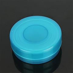 plein air rétractables gobelets en plastique - bleu + transparent (100ml)