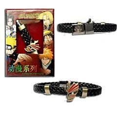 blegemiddel Kurosaki Ichigo punk stil pu læder armbånd cosplay tilbehør