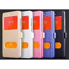Per Custodia HTC Con supporto / Con sportello visore / Con chiusura magnetica Custodia Integrale Custodia Tinta unita Resistente