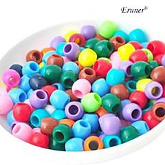 BaoGuang®20pcs Kits for Rainbow Color Loom Color Round Bead(Random Color)
