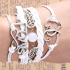 Woven Small Accessories Metal Bracelet B541
