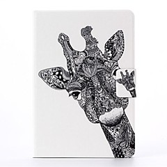 Giraffe Pattern PU Leather Full Body Case with Stand  for iPad Mini 1/2/3