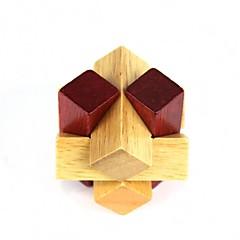 uddannelsesmæssige træ polygon bold puzzle oplåsning legetøj til børn / børn - træ