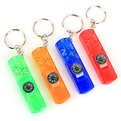 Multi-fonction LED Flashlight Keychain(Random Colors)