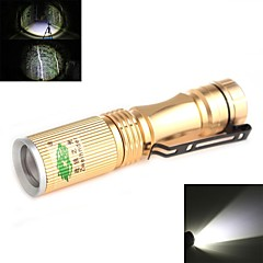 Zweihnder XKL-01 Waterproof 3-Mode 1xCree XP-E R2 White Light Zoom LED Flashlight(120LM,1x14500,Assorted Colors)