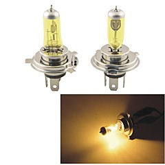 KOBO H4 12V 100W/90W 3000K 550LM Yellow Light Car Halogen Headlight(2 CPS)