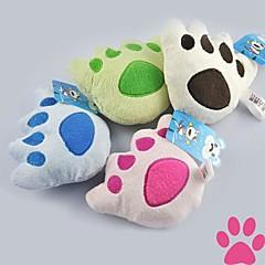 Zabawka dla kota Zabawka dla psa Zabawki dla zwierząt Zabawki Pluszowe Odcisk stopy Tekstylny