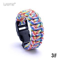 Lureme® Paracord Camouflage Survival Cord Children Short Bracelet