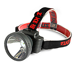 ZUKE ZK1681 Rechargeable 2-Mode 1x Cree LED 10W LED Flashlight(560LM, Black)