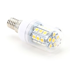 3W E14 LED-kornpærer T 27 SMD 5050 200 lm Varm hvit AC 220-240 V
