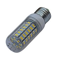 JIAWEN® E27 9W 56X5730SMD 720-810lm 3000-3200K/6000-6500K LED Warm White/White Light Corn Lamp Bulb (AC 220V)