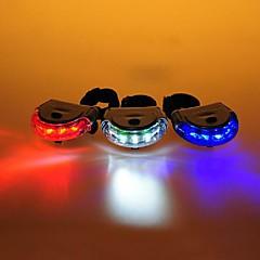 Cykellys / Baglygte til cykel LED Cykling alarm / baggrundslys / Nemt at bære AAA Lumens Batteri Cykling-FJQXZ®
