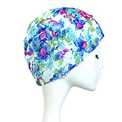 Sanqi Women's Fashional Sweet Style Anti-Slip Ear & Hair Protection Swimming Cap