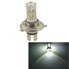 Carking™ Auto H4 60W 12SMD LED Headlight Foglight Bulb-White(12V 1PC)