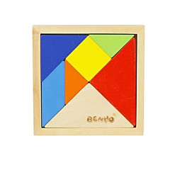 BENHO Birch Wood Puzzle Wooden Education Toy