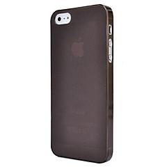 ultrafino 0,5 milímetros colorido caso matagal pp para iPhone 5 / 5s (cores sortidas)