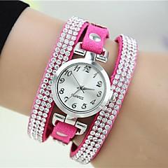 Frauen glänzenden Rhinestones Uhr