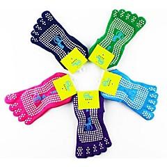 Yoga Calcetines A prueba de resbalones Eslático Ropa deportiva MujerYoga