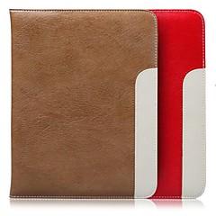 Äpple iPad Mini/iPad mini 2/iPad mini 3 - Solid Färg/Sport och Fritid - Smarta Omslag/Folio Fodral ( Äkta läder , Röd/Svart/Brun/Ros )