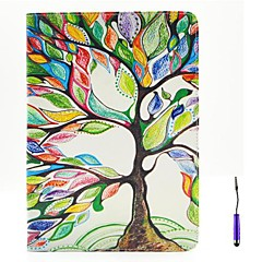The Tree of Life Pattern PU Leather Case Cover with A Touch Pen ,Stand and Card Holder for iPad Air