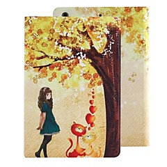 The Blue Skirt Girl PU Leather Full Body Case with Stand for iPad mini1/2/3