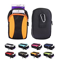 multifunzionali borse alpinismo tessili per iphone 5s / 6 / 6s / 6 / 6s più (colori assortiti)