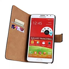 Wallet Style PU Leather Full Body Protective Case with Stand for Samsung Galaxy Note 3 Lite N7505