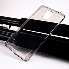 df® ultrafino caso de volta claro transparente para i9600 samsung galaxy s5
