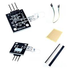 dito rilevare modulo sensore del battito cardiaco e accessori per arduino