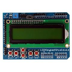 "geeetech 2,6 ""module de clavier LCD1602 Pour Arduino / Arduino Duemilanove diecimila carte"
