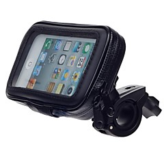 M05 moto d'acqua della bicicletta del supporto del basamento resistente per il gps, iphone 5 (nero)