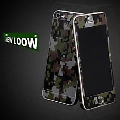 pleine longueur autocollant corps de camouflage pour iphone 5 / 5s (couleurs assorties)