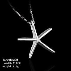 pendents encanto forma estrellas de mar de la moda de titanio