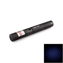 Pennformad - Aluminum Legering - Blå laserpekare