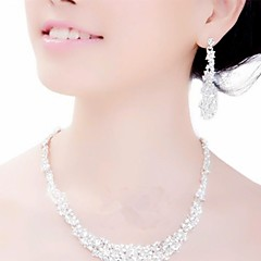 Wedding / Party-Necklaces / Earrings(Alloy)