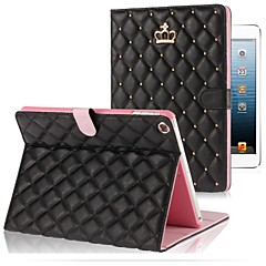 Compatible Solid Color PU Leather Smart Covers for Apple iPad Air  (Assorted Colors)