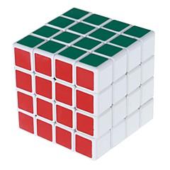 Shengshou® Cube de vitesse lisse 4*4*4 Vitesse Cubes magiques Blanc PVC / ABS