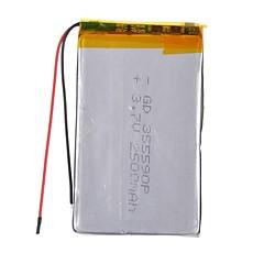 Bateria 355590P - Li-polímero - 2500mAh