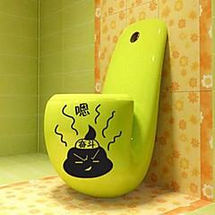 multifunctionele pvc decoratieve wc stickers