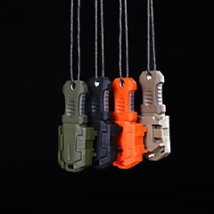 edc Mini acero inoxidable molle correas hebilla auto herramienta de supervivencia defensa