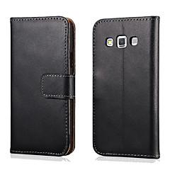 Celular Samsung - Samsung Galaxy A3 - Cases Totais - Côr Única ( Preto , Pele Genuína )