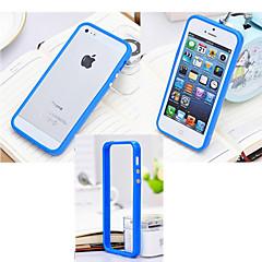 iPhone 4/4S/iPhone 4 - Puskurikuori - Yksivärinen ( Punainen/Valkoinen/Vihreä/Sininen/Pinkki/Keltainen/Violetti , Silikoni )