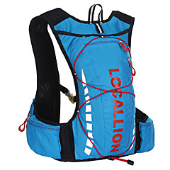 WEST BIKING® Cycling Backpack 10L Breathable Waterproof Polyester Running Hiking Backpack Outdoor Riding Bikebag
