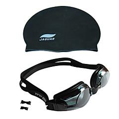 JIEJIA Unisex Swimming Goggles Gray Anti-Fog/Waterproof/Anti-UV/Anti-slip Strap Acrylic Acrylic
