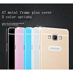 For Samsung Galaxy etui Belægning Etui Bagcover Etui Helfarve Akryl Samsung A7
