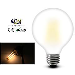 ON E26/E27 8 W 8 COB 800 LM 2800-3200K K Warm White A Dimmable Globe Bulbs AC 220-240/AC 110-130 V