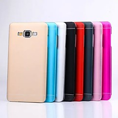 Ultrathin Metal And PC 2 In 1 Design Back Cover Case for Samsung Galaxy A3(Assorted Colors)