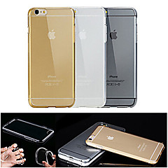 For iPhone 6 Case / iPhone 6 Plus Case Transparent Case Back Cover Case Solid Color Soft TPU iPhone 6s Plus/6 Plus / iPhone 6s/6
